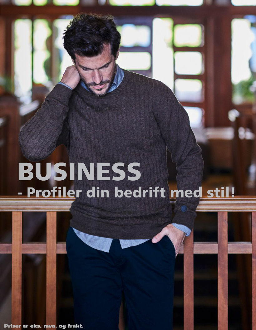 Business - Profiler din bedrift med stil