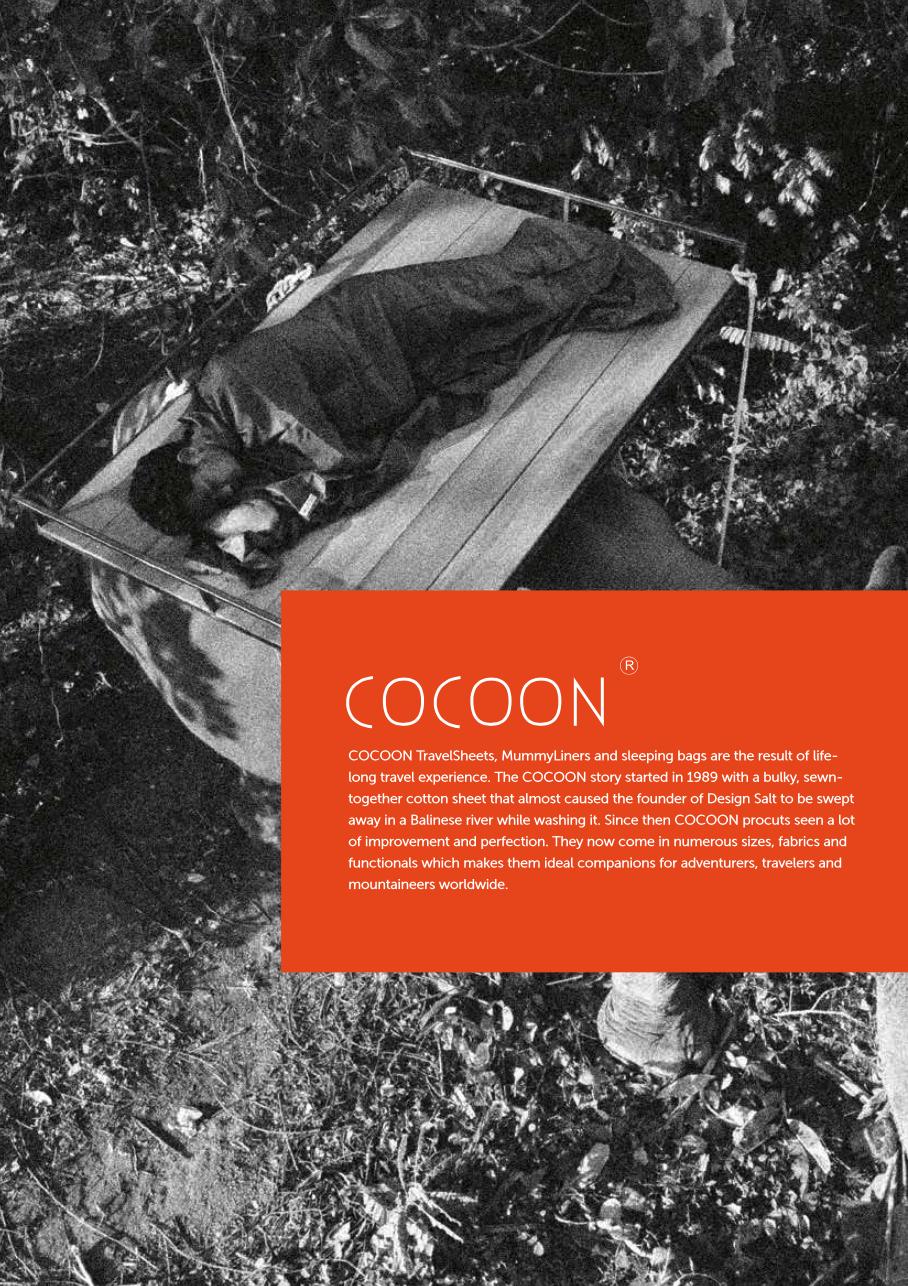 Cocoon Lakenposer, Pakkutstyr, Myggnett
